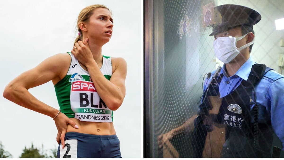 El drama de una atleta bielorrusa: le intentan sacar a la fuerza de Tokio para meterle en la cárcel tras criticar a su comité olímpico