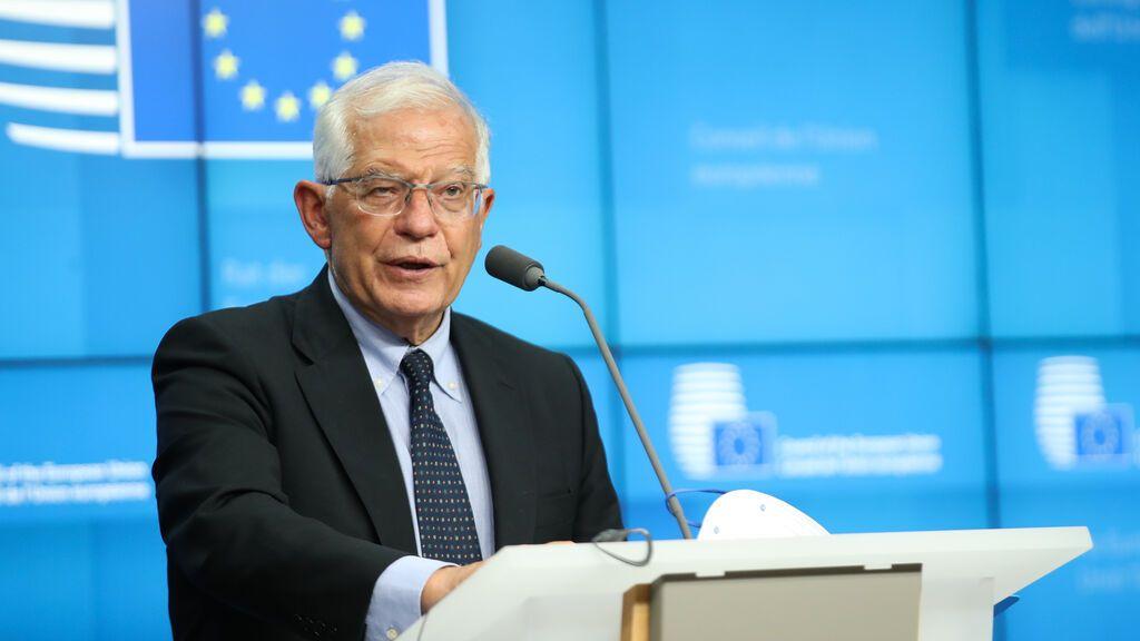 Borrell intenta cortar en Irak el chantaje bielorruso con los migrantes