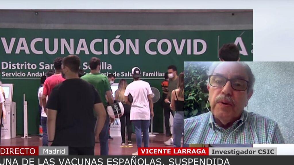 La ventaja que supondría la vacuna española respecto a las de Pfizer y Moderna, según un investigador el CSIC