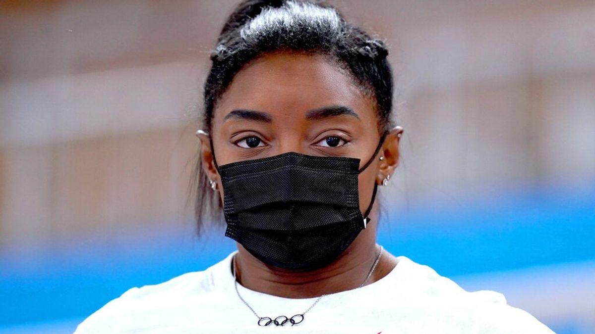 Simone Biles se retiró tras la primera prueba en los JJOO de Tokio.