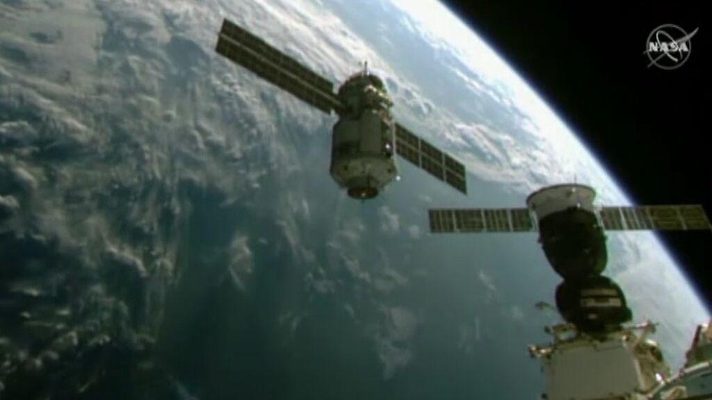 El módulo ruso Nauka vuelve a acoplarse a la Estación Espacial Internacional