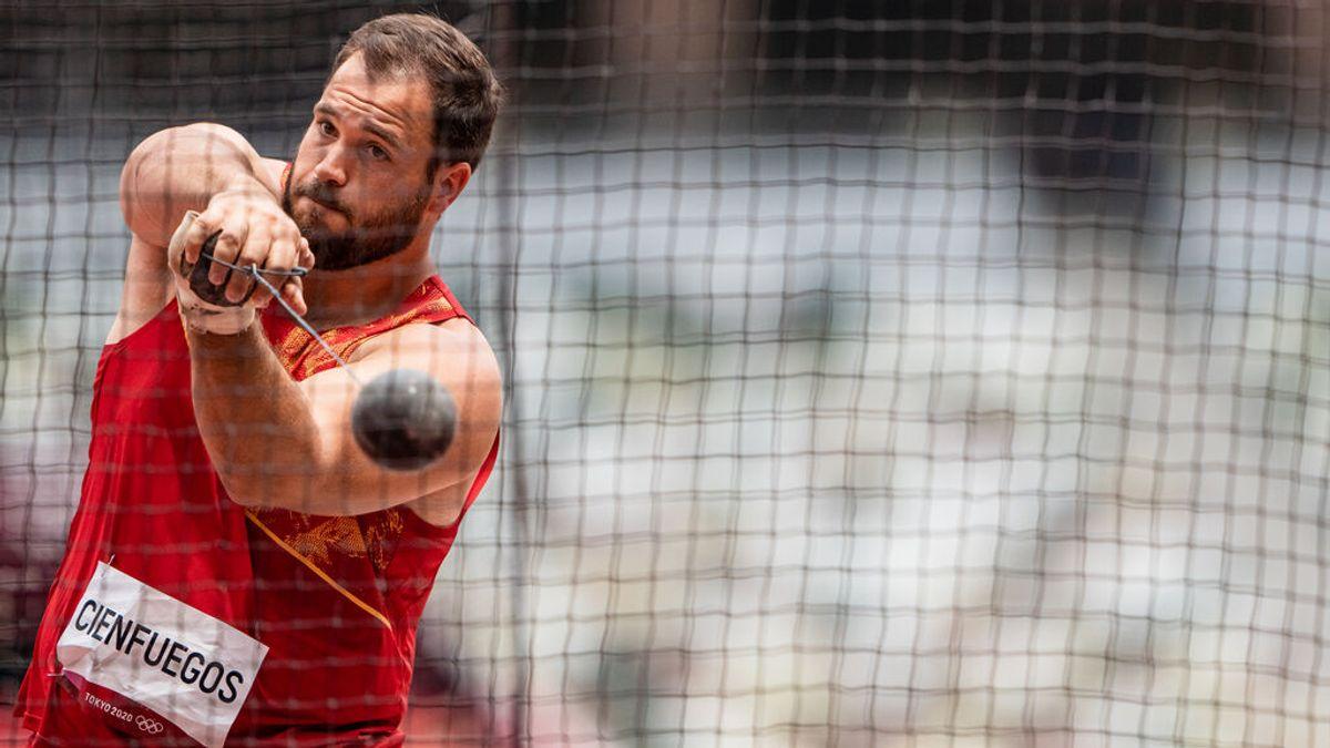 Última hora de los Juegos Olímpicos de Javier Cienfuegos, del Equipo Español, en la clasificación de lanzamiento de martillo| Resultados y medallas de la jornada de hoy