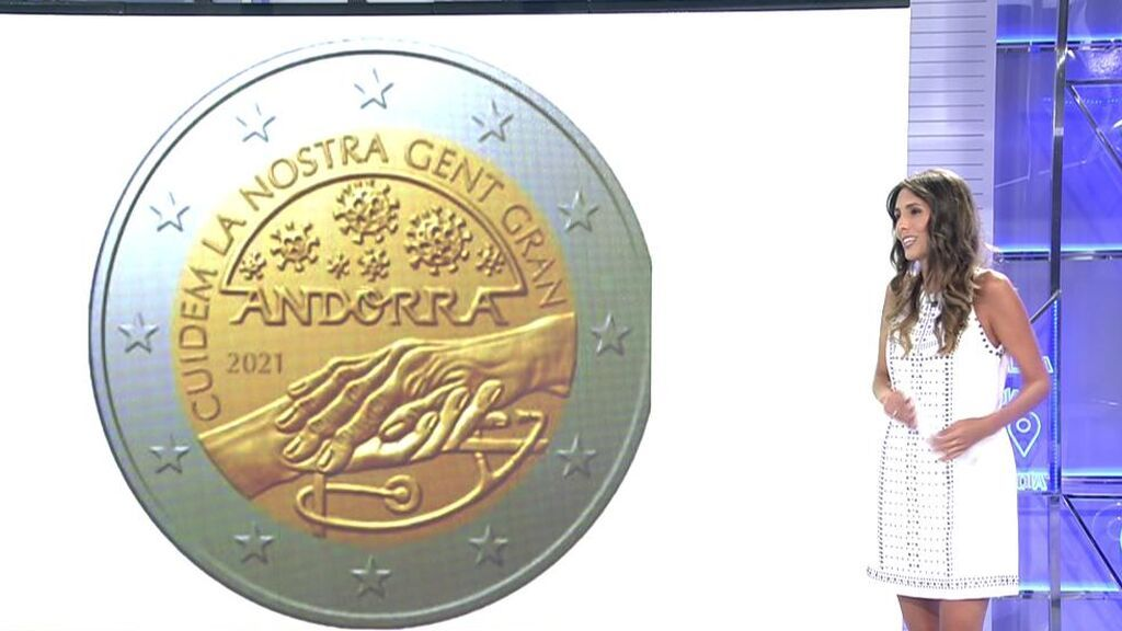 Las monedas 'covid' de Andorra