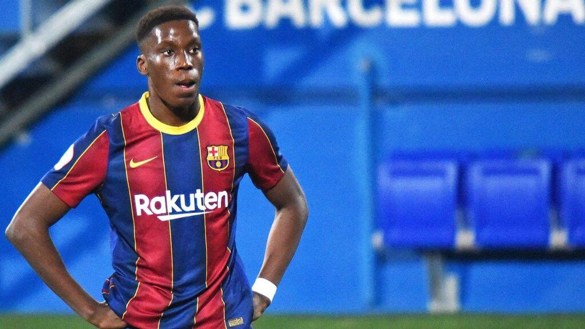 Ilaix Moriba tiene de plazo hasta el domingo para renovar con el Barça.