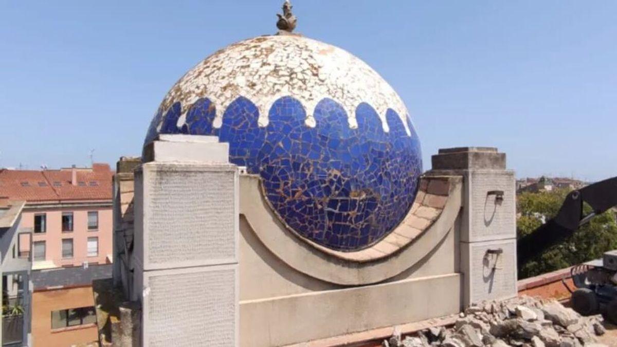 El ayuntamiento de Figueres se marca un Ecce Homo con una cúpula cerámica que restauró