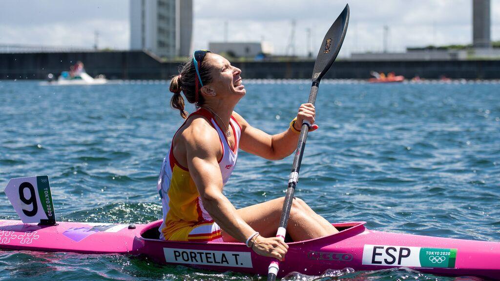 Teresa Portela consigue la medalla de plata en piragüismo K1 200 en sus sextos Juegos Olímpicos