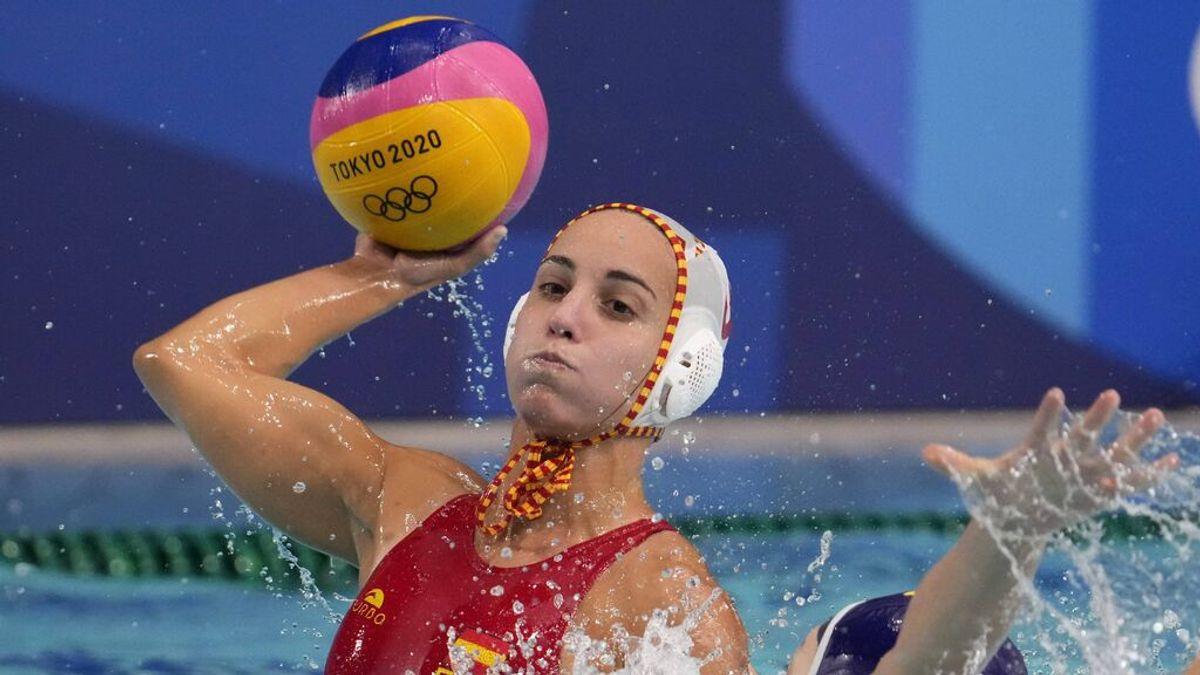 España se mete en la lucha por los metales en Waterpolo femenino tras derrotar a China