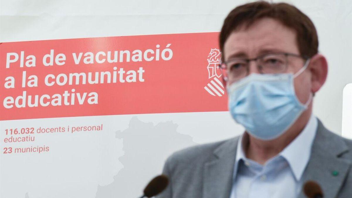La Comunidad Valenciana alcanzará el 70% de vacunados con pauta completa en 15 días