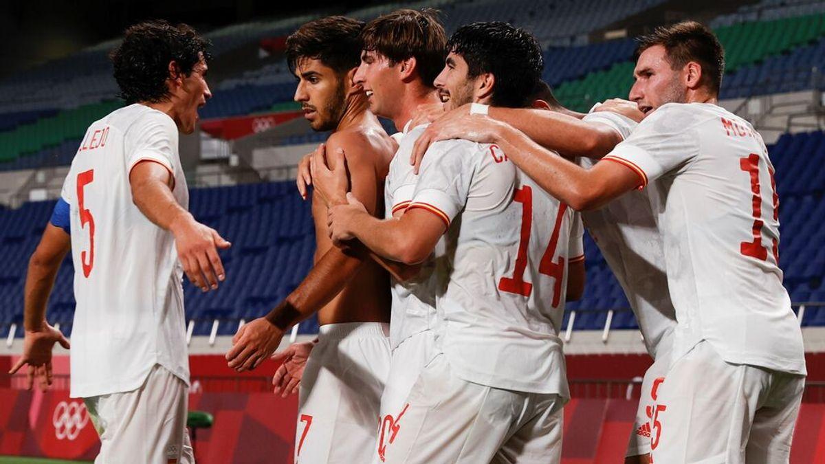 La selección de fútbol asegura una nueva medalla para España tras meterse en la final de Tokio 2020