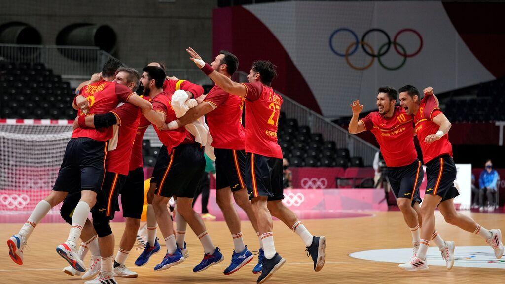 'Los Hispanos' ganan por la mínima a Suecia y lucharán en semifinales por las medallas