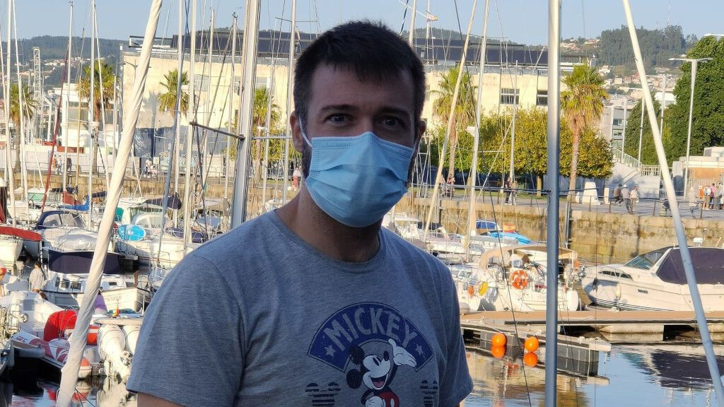 """Alberto Lago, vacunado y reinfectado: """"Me parecía imposible que yo acabara en la UCI"""""""