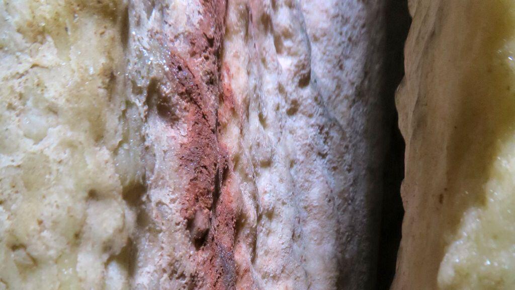 Una de las estalagmitas estudiadas