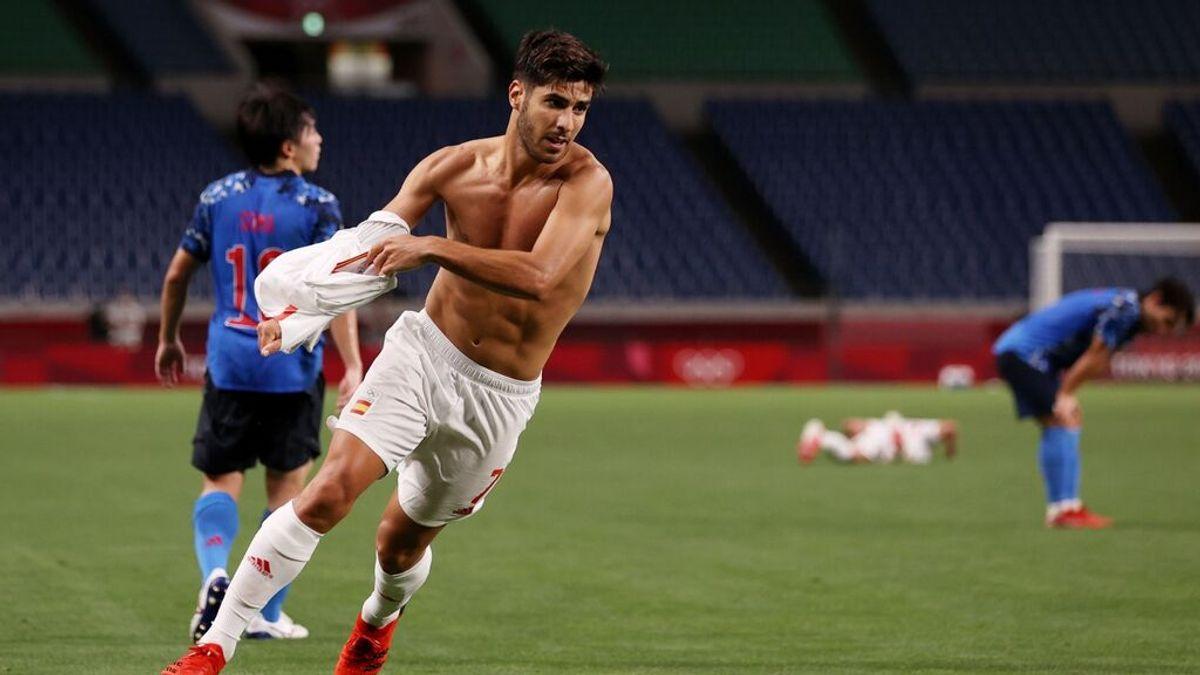 España jugará la final de los Juegos Olímpicos ante Brasil tras ganar a Japón con gol de Asensio (0-1)