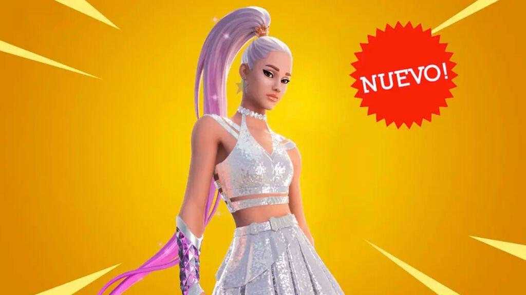 Skin de Ariana Grande en Fortnite