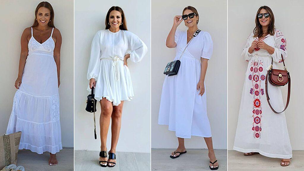 Los vestidos blancos de paula para este verano