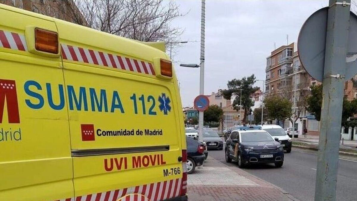 Una bebé de año y medio, muy grave tras caerse desde un segundo piso en Madrid