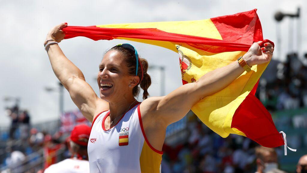 """Teresa Portela, al fin en el podio olímpico tras seis Juegos y con 39 años: """"Quien la sigue la consigue"""""""