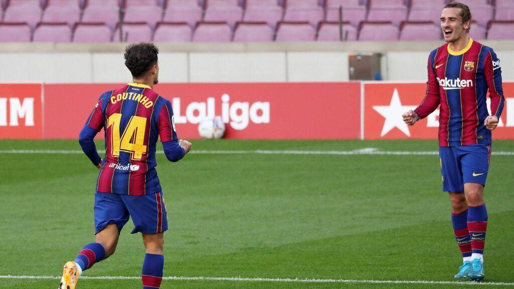 Griezmann y Coutinho, a la venta en el Barcelona.