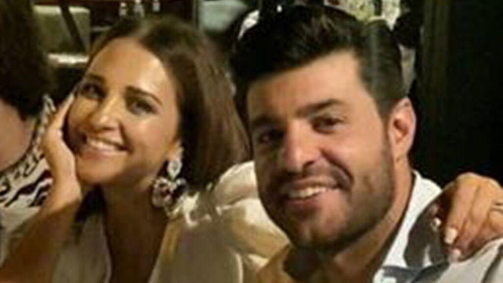 Paula echevarría junto a Miguel Torres