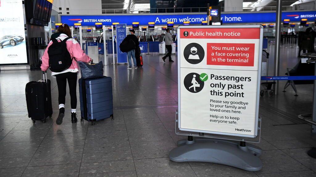 Imagen del aeropuerto de Heathrow en Londres