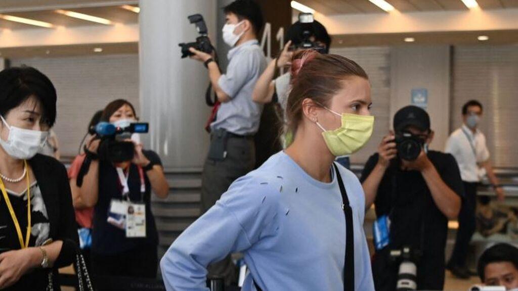 Krystsina Tsimanouskaya abandona Tokio y se va a Polonia tras el incidente con Bielorrusia