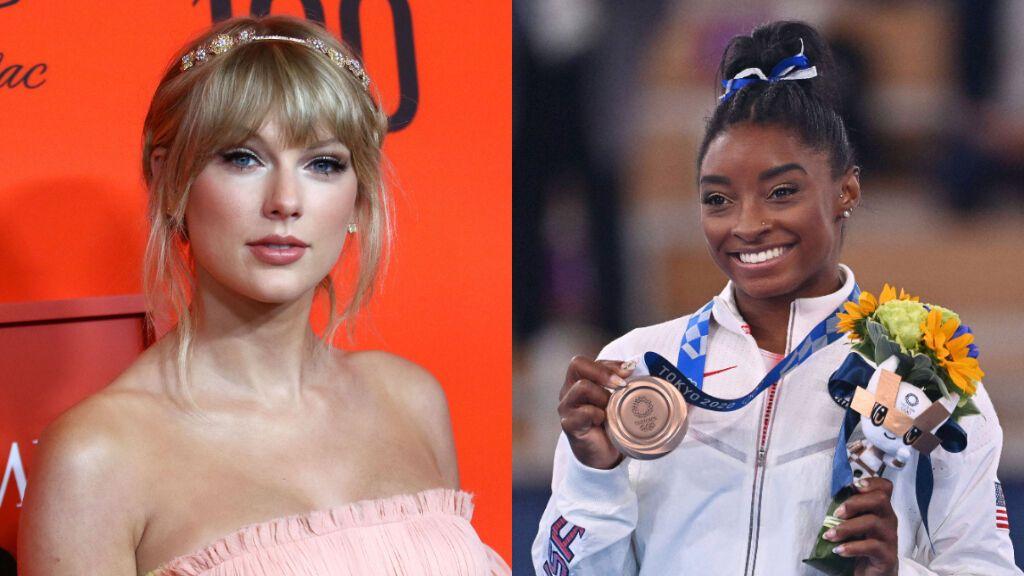"""Taylor Swift manda un emotivo mensaje a Simone Biles tras su regreso a la competición en Tokyo 2020: """"Todos aprendemos de ti"""""""