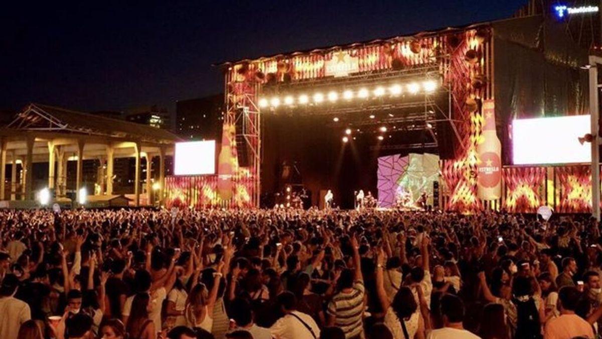 Cataluña detecta 2.279 contagios entre los asistentes a tres festivales de música