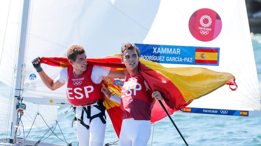 Xammar y Rodríguez logran el bronce en la clase 470