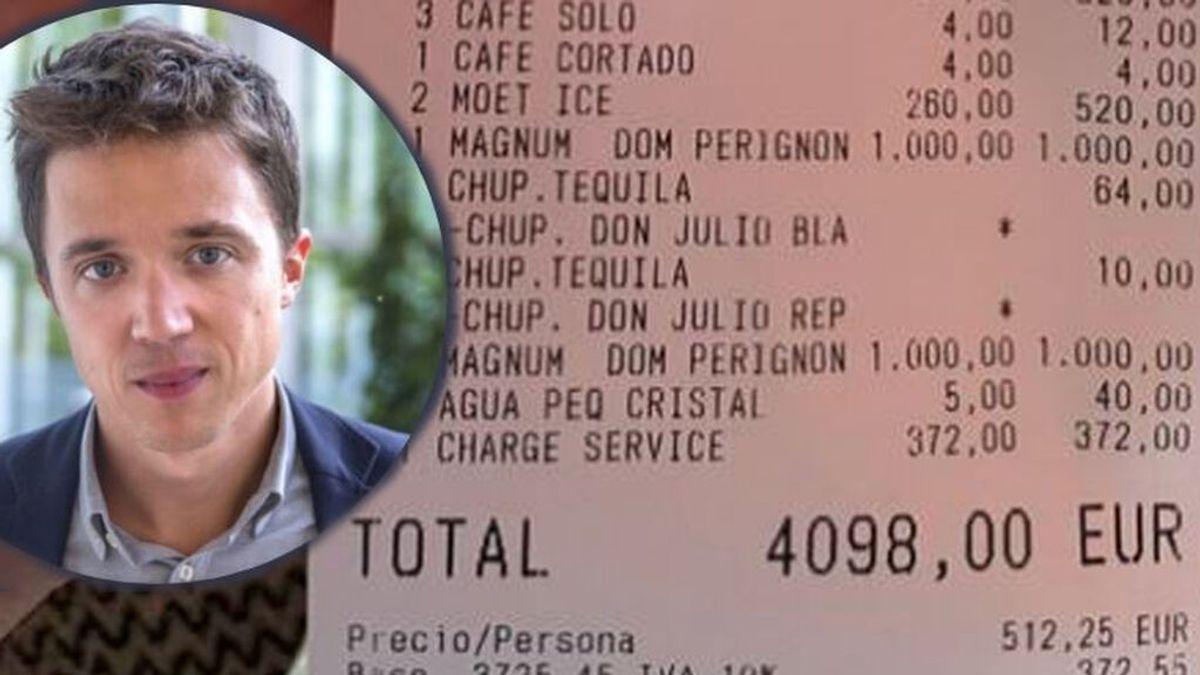 Iñigo Errejón le da de su propia medicina a un 'broker' de Bolsa que hizo viral un ticket  de 4.000 euros