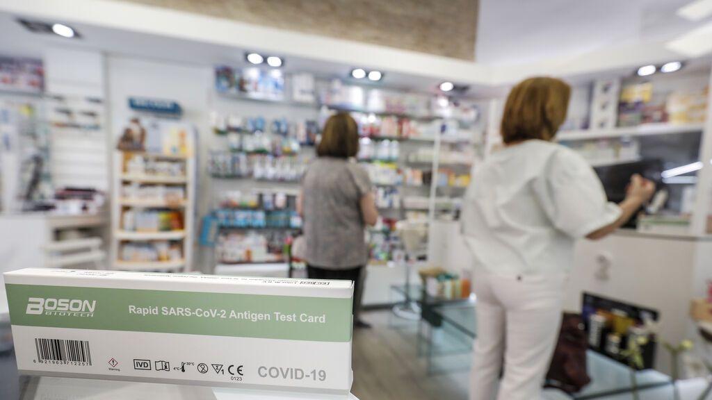 ¿Cuántos test de antígenos sin receta se han vendido en las farmacias?