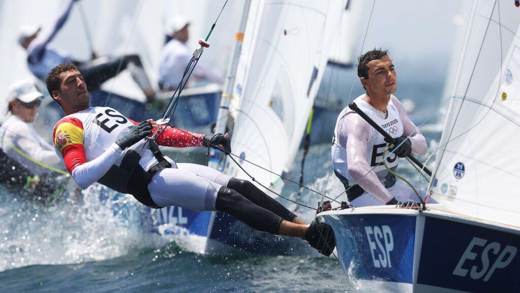 Jordi Xammar y Nicolás Rodríguez consiguen la medalla de bronce en el 470 de vela en Tokio 2020
