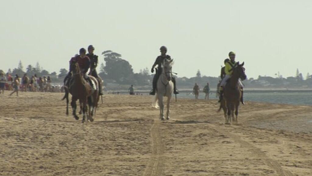 Vuelven las carreras de caballos de Sanlúcar de Barrameda tras un año paradas por la pandemia