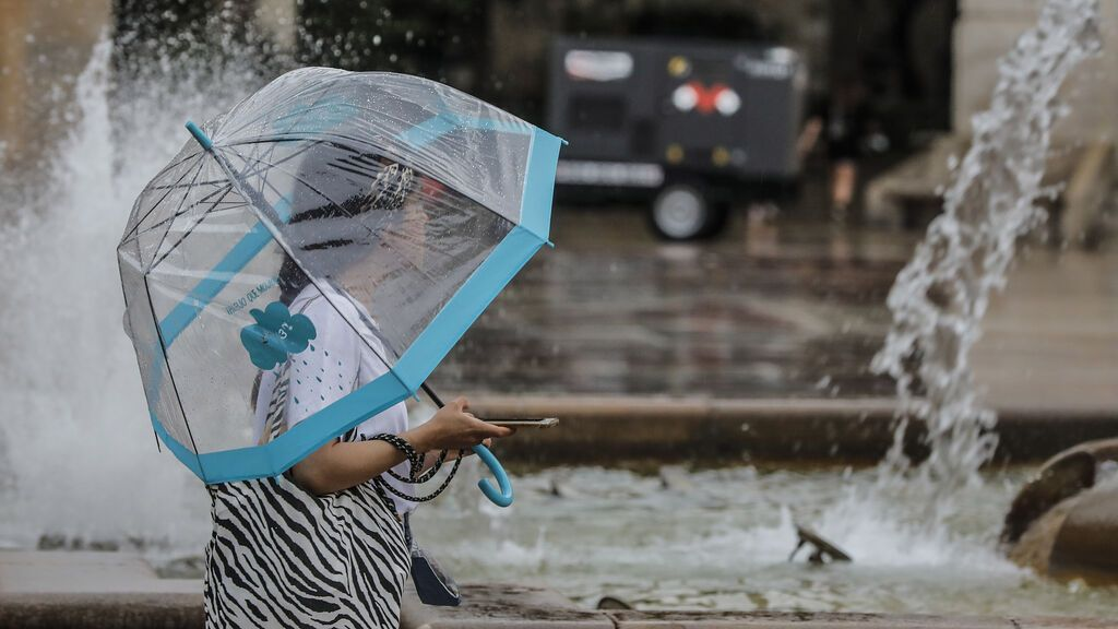 Barcelona y Girona, en alerta este miércoles por lluvias intensas y fuertes tormentas