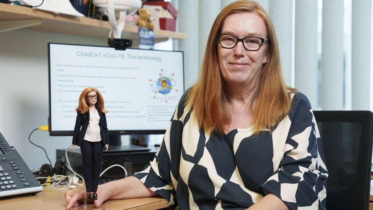 Barbie presenta una muñeca inspirada en Sarah Gilbert, la científica que desarrolló la vacuna de covid