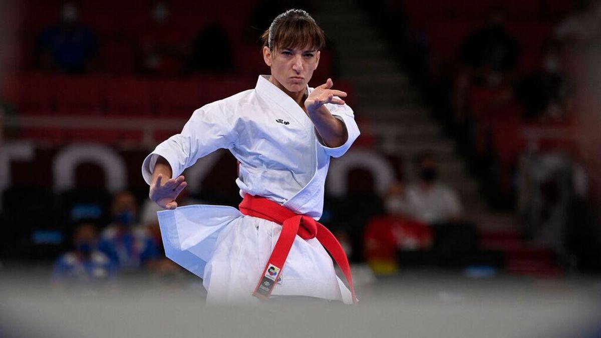 Sandra Sánchez asegura otra medalla para España entrando en la final de Katas de Kárate ante Shimizu