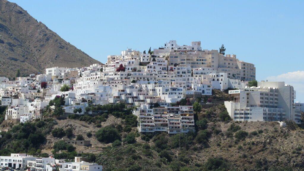 El pueblo de Mojácar, en Almería.