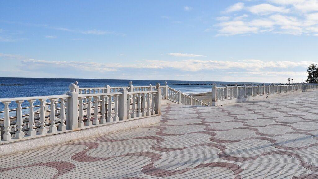 El Paseo del Malecón, en Garrucha.