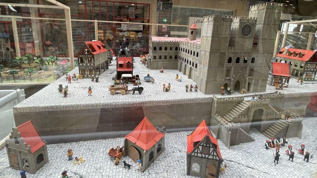 'O Camiño, a vista de Playmobil' está compuesta por más de 1.000 figuras y 9.000 accesorios