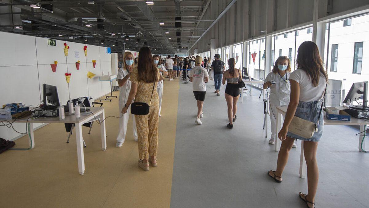 Sigue descendiendo la presión hospitalaria por covid en España