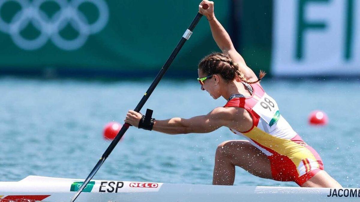 Antía Jácome roza la medalla y queda quinta en la final del C1-200 en piragüismo