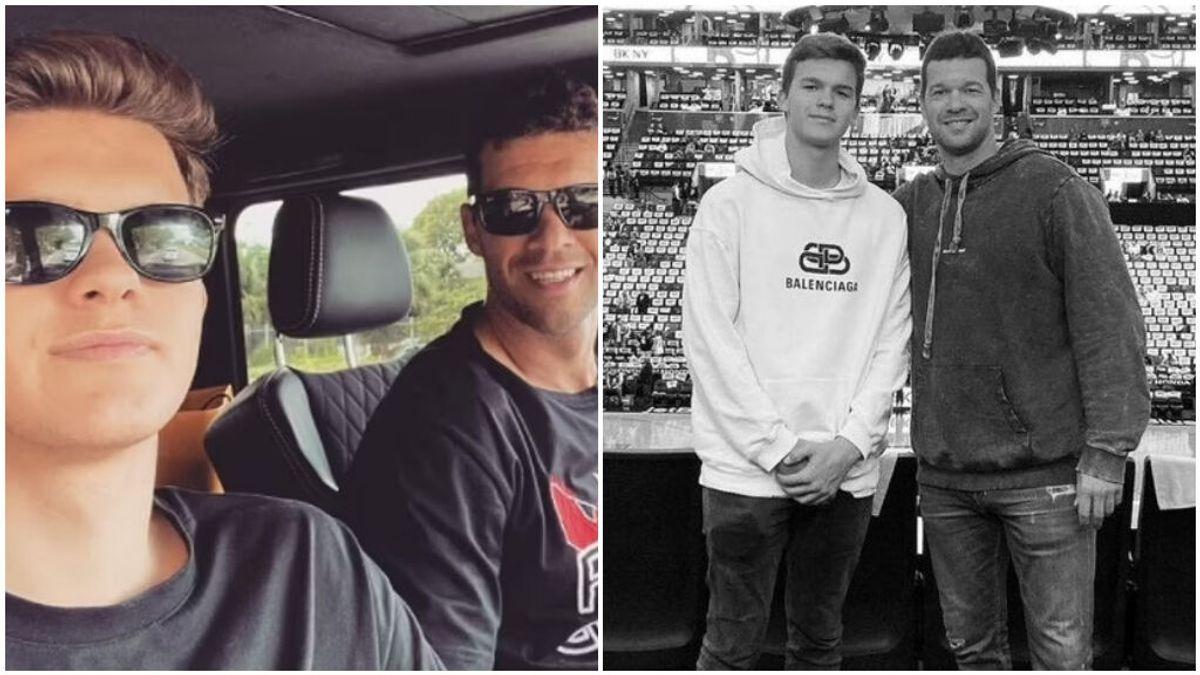 Muere, a los 18 años, el hijo de Michael Ballack tras un accidente de quad en Portugal