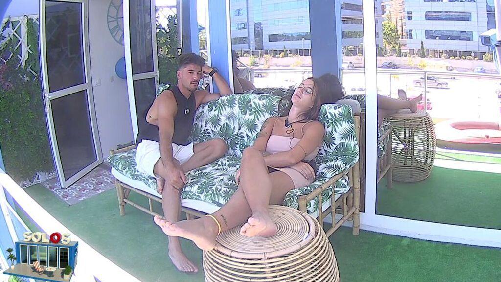 """Iván continúa con su acercamiento a Fati: """"Después de la prueba, si quieres, te doy un masaje"""""""
