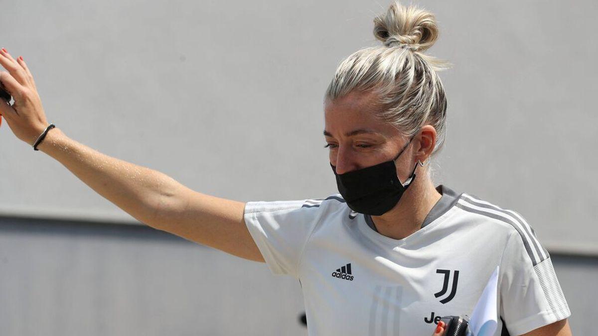 Linda Sembrant, jugadora de la Juventus de Turín