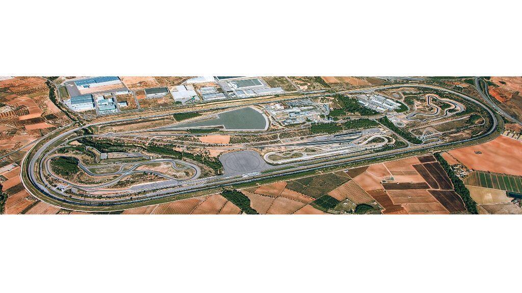Instalaciones de IDIADA en Tarragona