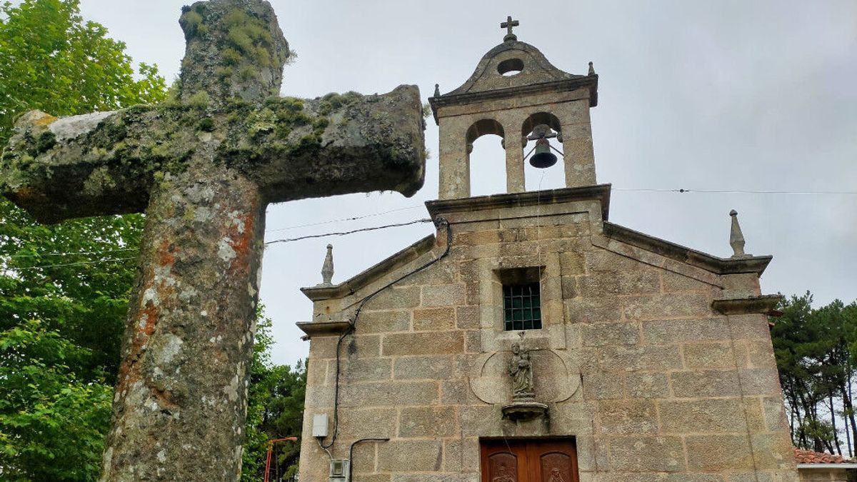 Roban una campana de 120 kilos de una iglesia de Gondomar