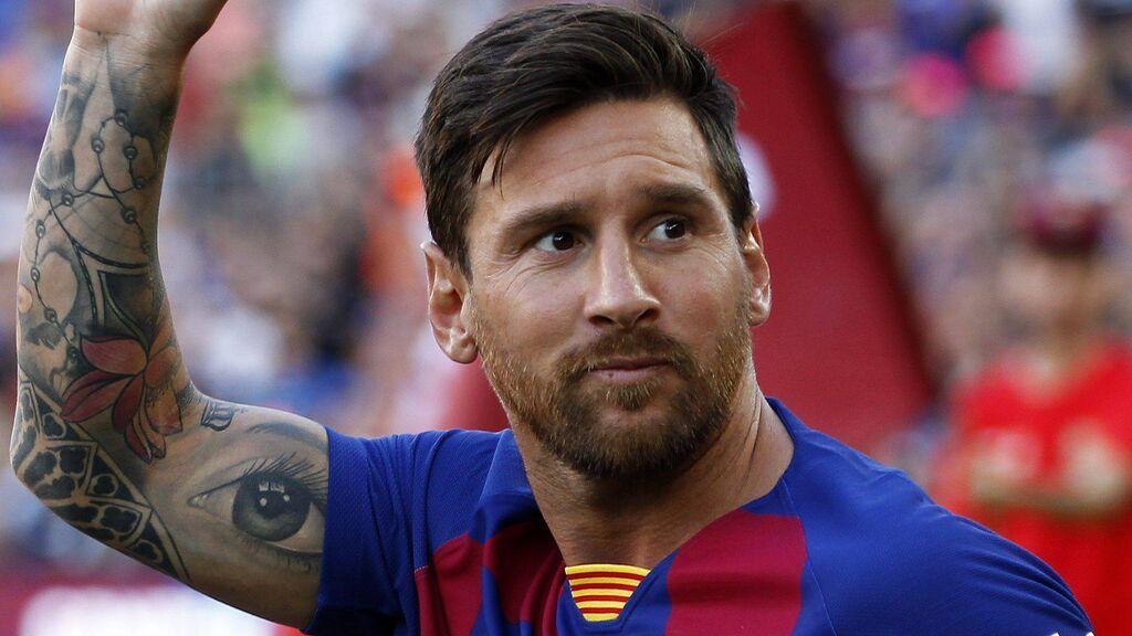 Messi, más de 20 años como azulgrana.