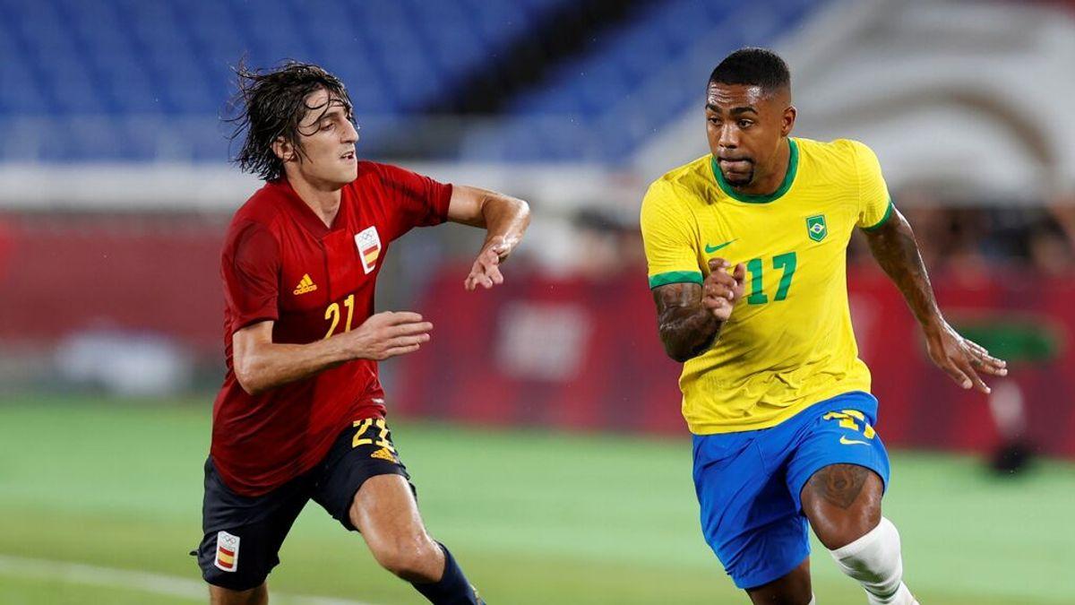España logra la medalla de plata en Tokio 2020 tras caer ante Brasil en la prórroga