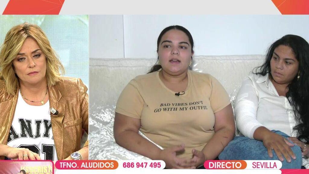 Naiara, la hija de Saray Montoya, relata la agresión
