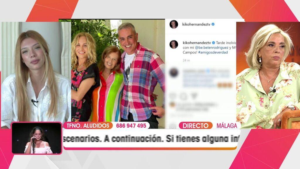 Alejandra Rubio y Carmen Borrego viven un desencuentro