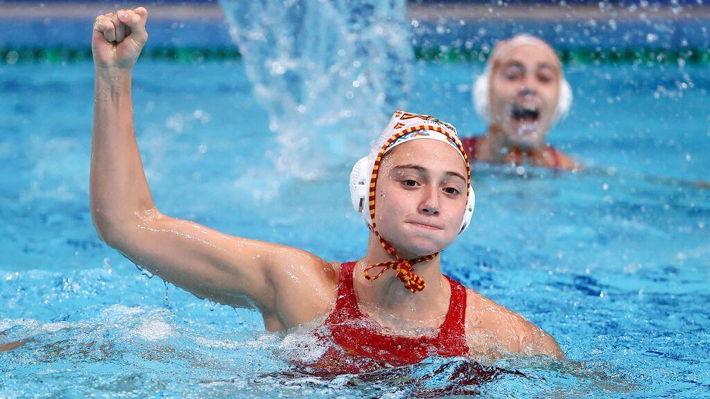 Las chicas de waterpolo consiguen la plata tras caer en la final ante la poderosa Estados Unidos
